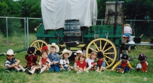 chuckwagon and kids